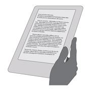 Clip art image of an e-reader.