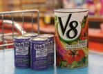 Recycle vegetable and fruit juice cans.
