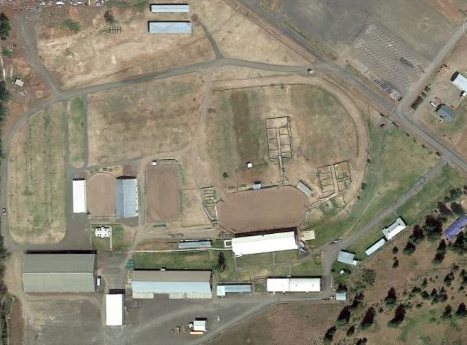 Fairgrounds Aerial View