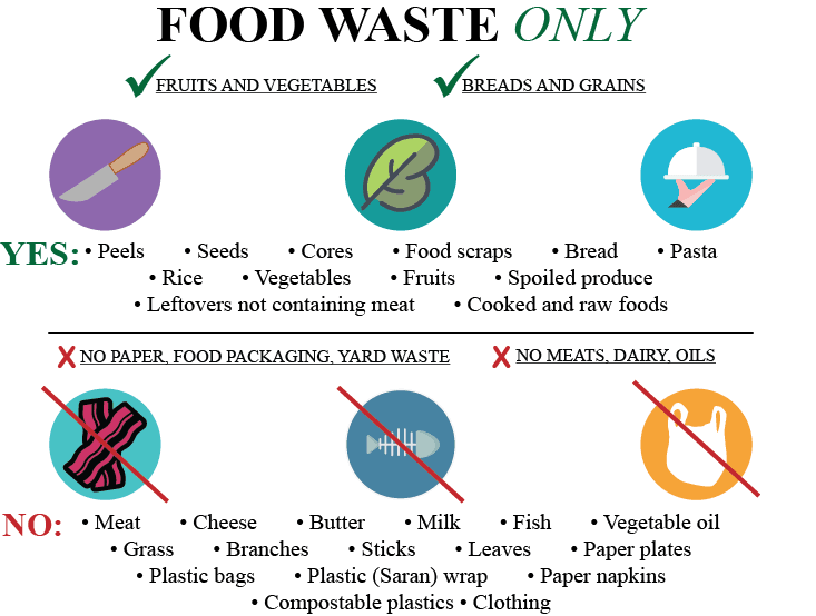 Food Waste Collection List