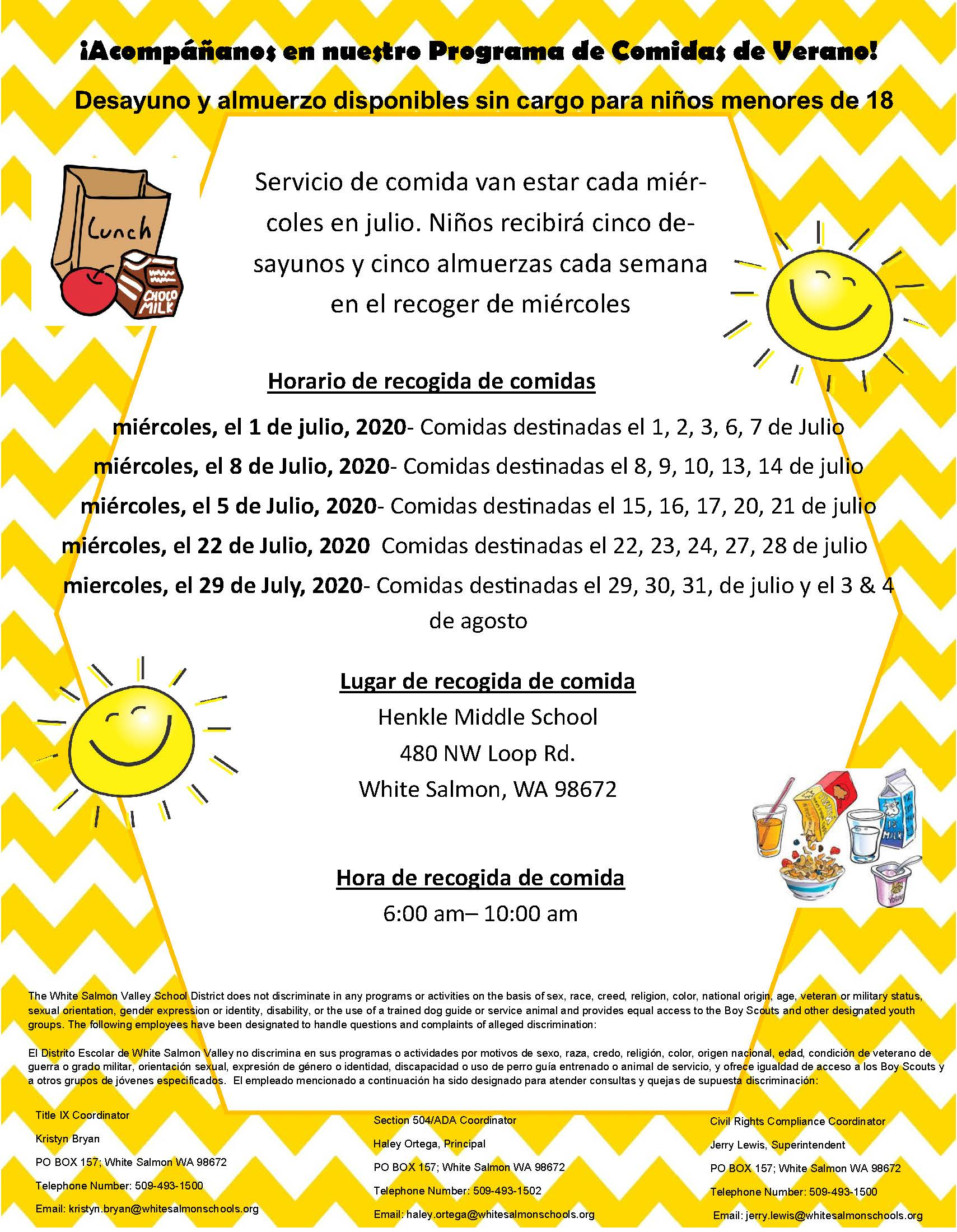 Summer Flyer Spanish