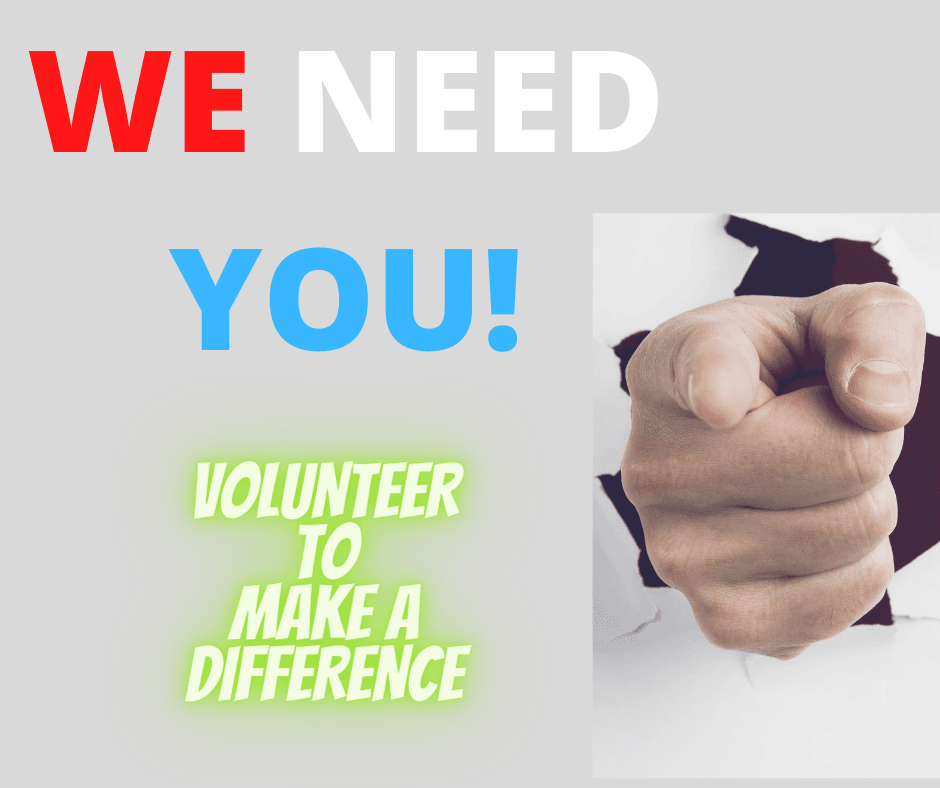 Volunteer We Need You
