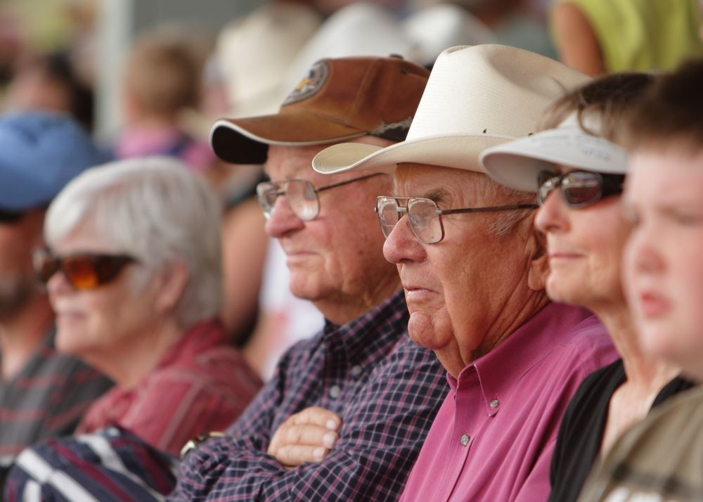The crowd at the 2014 Klickitat County Fair.